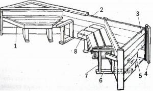 Подковообразная скамья