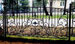 Кованые ограды и заборы