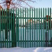 Деревянные ограды своими руками